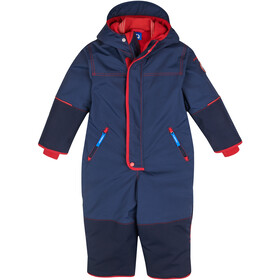 Finkid Husky Haalari Winter Overall Girls navy/red
